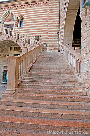 View of the staircase