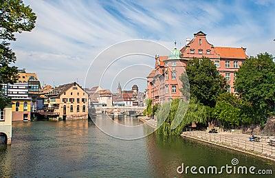 View of Strasbourg city center