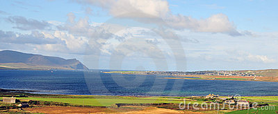View of Stromness.