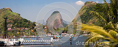 View of the sugarloaf in Rio de Janeiro