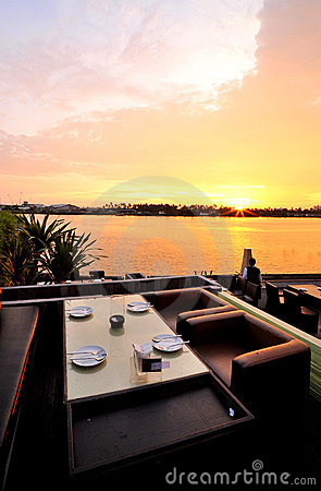 Free View Sunset Stock Image - 14961291