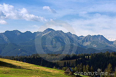 View of the Tatras