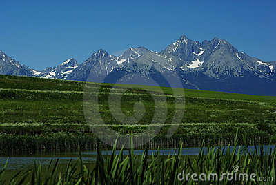 View on Tatras Peaks