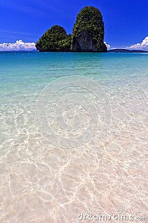 View of Thai sea, south of Thailand