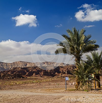 View on Timna park, Israel