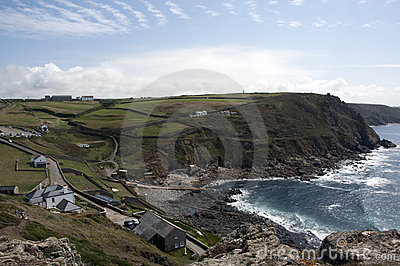 View from the tip of Cape Cornwall