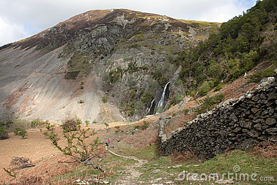 View To Aber falls