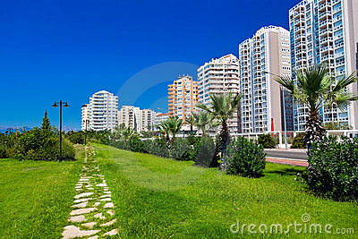 View to Antalya (Turkey)