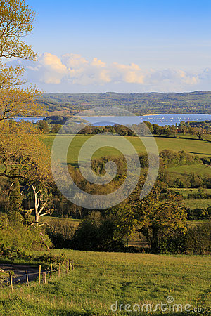 Free View To Chew Valley Lake - Portrait Stock Images - 24849384