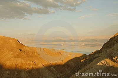 View to Dead sea From the mountains