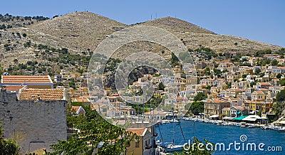 View to Gialos