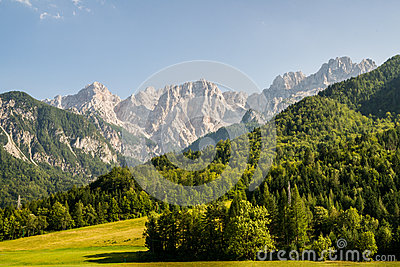 View to the Julian Alps
