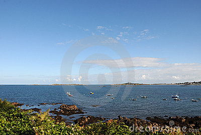 View to Lihou , Guernsey