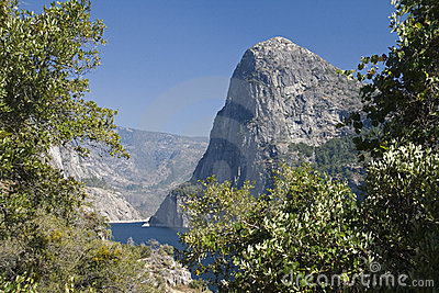 View to the mountains and Hetch Hetchy
