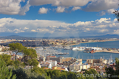 View to Palma de Mallorca