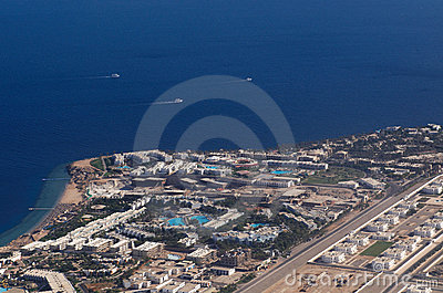 View to Sharm El-Sheikh