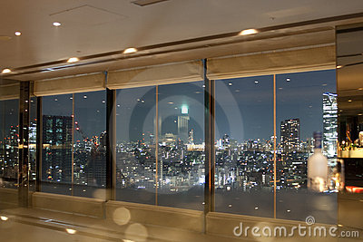 View on Tokyo cityscape Editorial Stock Photo