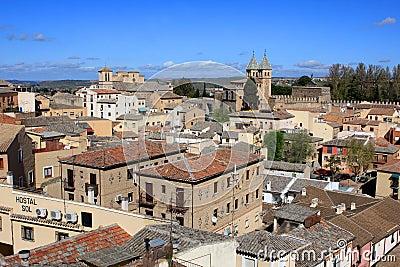 View of Toledo, Spain Editorial Photo