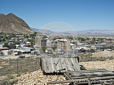 View of Tonopah, Nevada