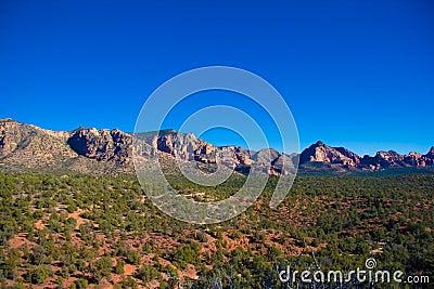 View toward Sycamore Canyon