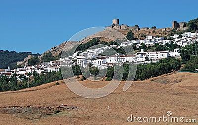 View of town, Jimena de la Frontera.