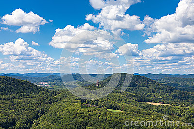 View from Trifels
