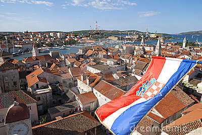View on Trogir