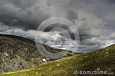 View of Upper Lake. Ireland