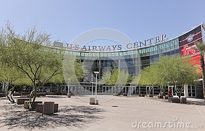 A View of US Airways Center, Phoenix, Arizona Editorial Stock Image