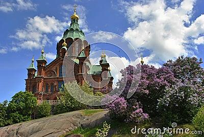 View of Uspenski Orthodox Church