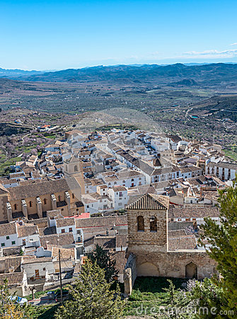 View from Velez Blanco Castle