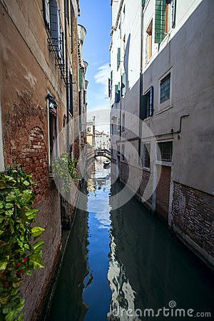 View of Venice s canal grande Editorial Stock Image