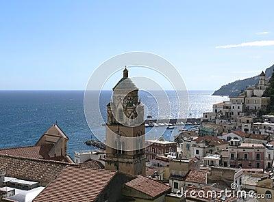 View On Village Of Amalfi