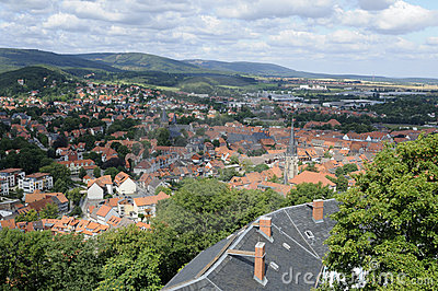 View from Wernigerode Castle