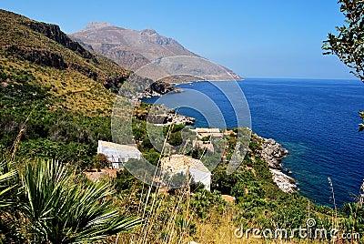 View of Zingaro reserve