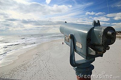 Viewfinder on Pensacola Beach