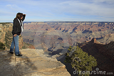 Viewing the Grand Canyon