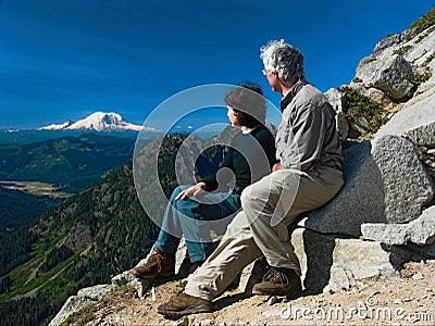 Viewing Mt. Rainier