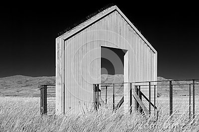 Viewing Platform Black and White