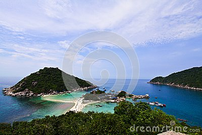 Viewpoint of Koh Nangyuan