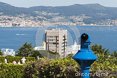 Viewpoint over Vigo, Spain