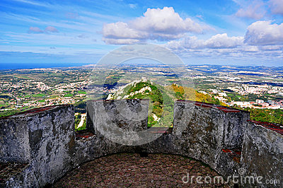 Viewpoint of Pena palace