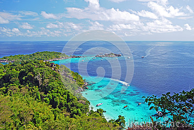 Viewpoint in Similan Islands
