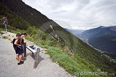 Viewpoint in Switzerland