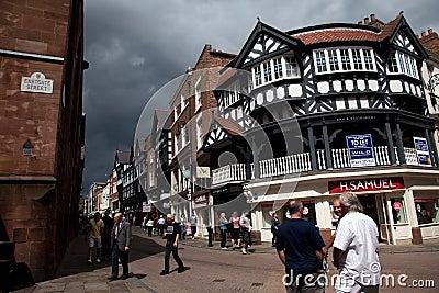 Views around Chester Editorial Stock Image