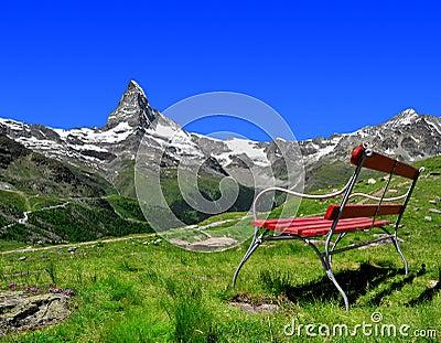 Views of the Matterhorn