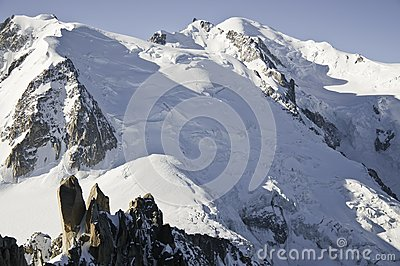 Views of Mont-Blanc