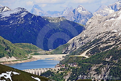 Views of the mountains of Val di Fassa