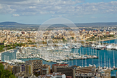 Views over Palma