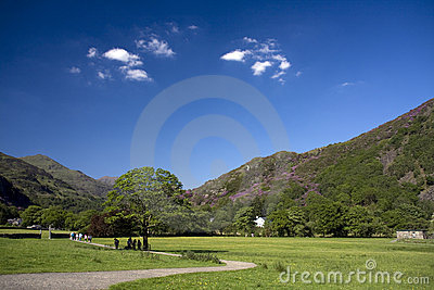 Views to Beddgelert